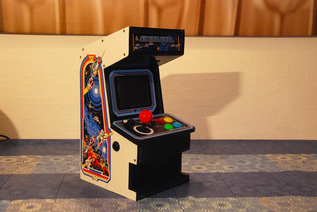 Diy Mini Arcade Cabinet Thinkgeek Wwwimagezco